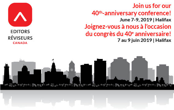 Join us for our 40th-anniversary conference in Halifax