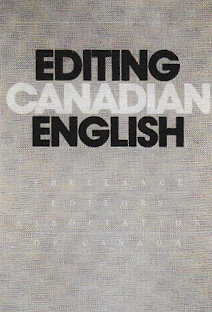 B&W photocopy of the 1987 edition of Editing Canadian English, published by the Freelance Editors' Association of Canada