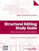 Structural Editing Study Guide: Editors' Association of Canada Certification