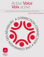 Active Voice/Voix active (September 2016)