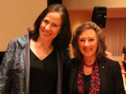 Catherine Plear and Adele Simmons (Photo: Tammy Burns)