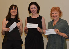 Grace Yaginuma, Suzanne Rent and Sue MacLeod