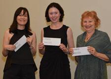 Grace Yaginuma, Suzanne Rent and Sue MacLeod