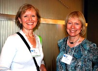 Mary Reeve and Carolyn Pisani