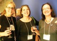 Elizabeth Macfie, Debra Roppolo and Anna Olivier