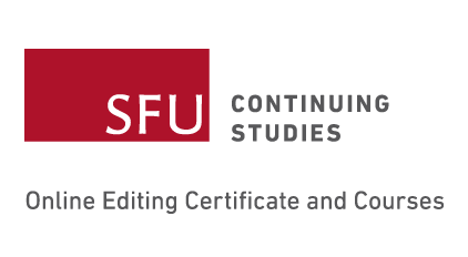 SFU Continuing Studies.̇ Online Editing Certificate and Courses