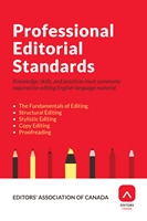 Professional Editorial Standards (2016)
