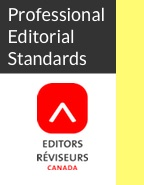 Professional Editorial Standards 2016