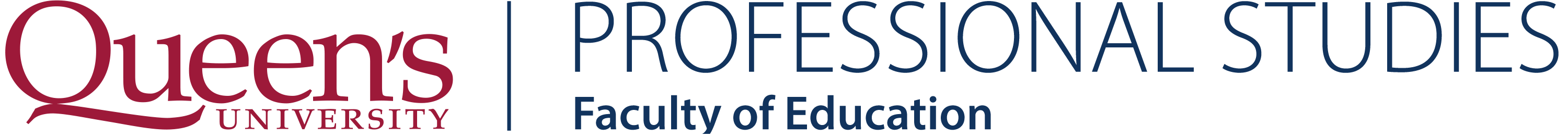 Queen's University Faculty of Education, Professional Studies