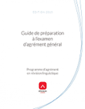 Guide de préparation