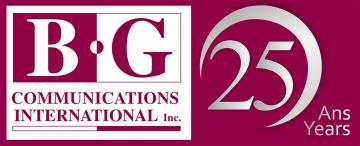 BG Communications - Editors Canada International Conference 2020 Sponsor
