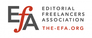 EFA - Editorial Freelance Association Logo Conference Sponsor 2019