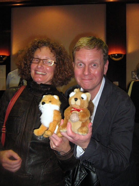 Members of the National Capital Region branch (now Editors Ottawa-Gatineau) pose with stuffed toys